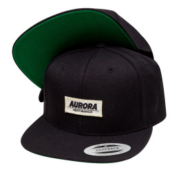 """Above"" Snapback Cap – black"