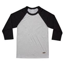 """Above"" Baseball Shirt – white"