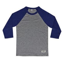 """Above"" Baseball Shirt – grey"