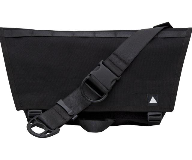 Compact Messenger Bag – black